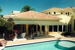 residential custom made awnings