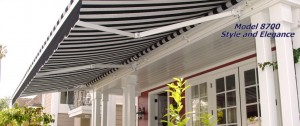 NuImage Retractable Awning Model 8700 retractable awnings