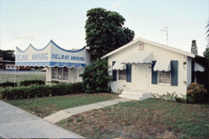 Delray Awning serving Palm Beach County for over 55 years
